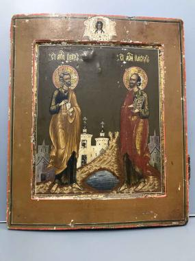 Икона Святые Пётр и Павел