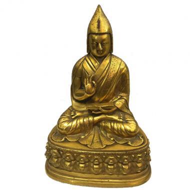 Буддийская статуэтка Цонкапа