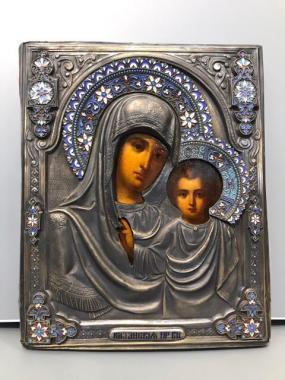 Икона Казанской Пресвятой Богородицы