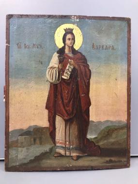 Икона Великая Мученица Варвара