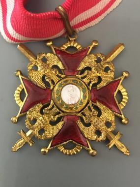Царский орден Святого Станислава 2 степени с мечами Временное правительство.