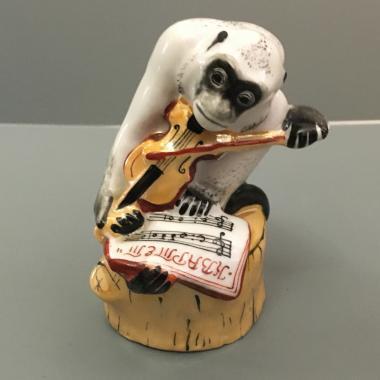 Статуэтка «Мартышка со скрипкой» ЛФЗ