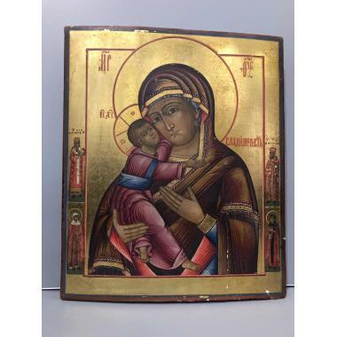 Икона Владимирская Пресвятая богородица