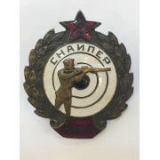 Знак Снайпер РККА
