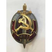 Знак Почетный сотрудник МВД