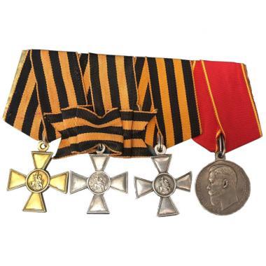 Колодка с наградами Императорской России
