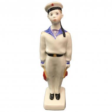 Фарфоровая статуэтка «Нахимовец» ЛФЗ