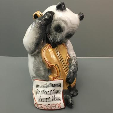 Фигурка «Медведь с контрабасом» ЛФЗ