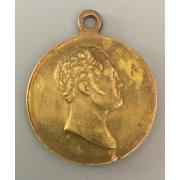 Царская медаль 100 лет Отечественной войны 1812 года.