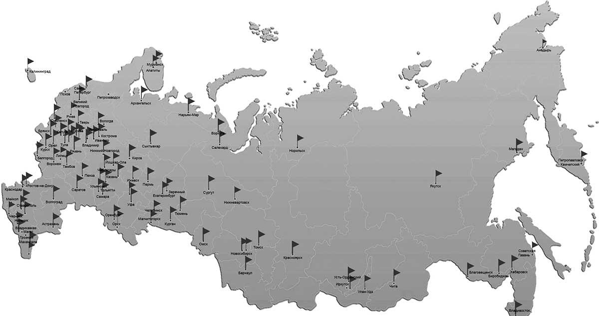 карта где производятся покупки антиквариата